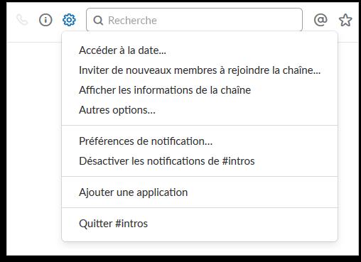 Chaines Slack Startup Lyon